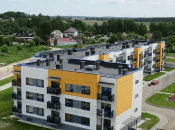Общий вид малоэтажных домов